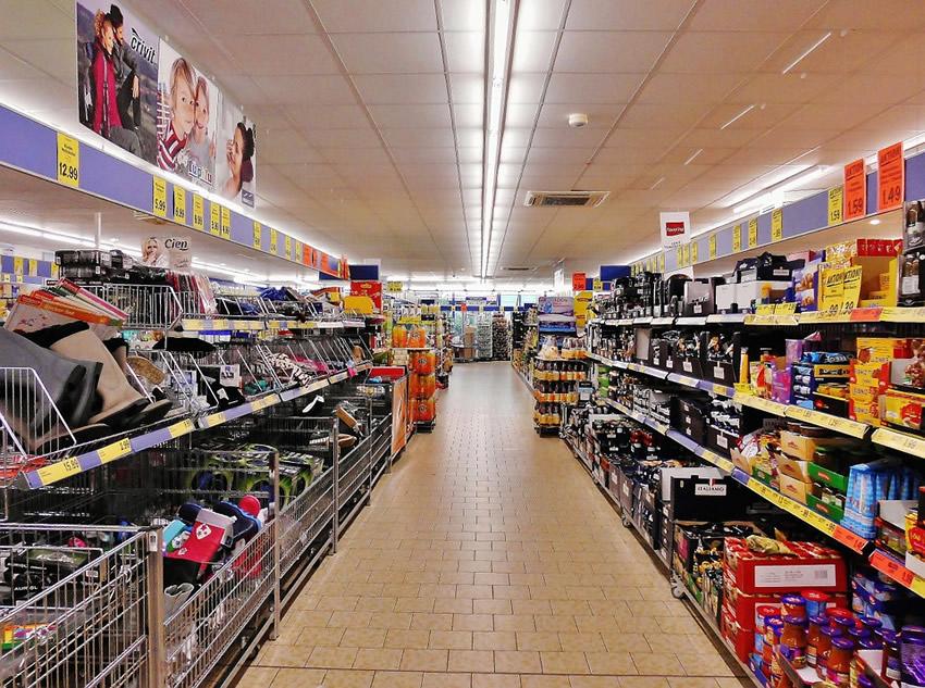 Cesta de la compra dieta Atkins
