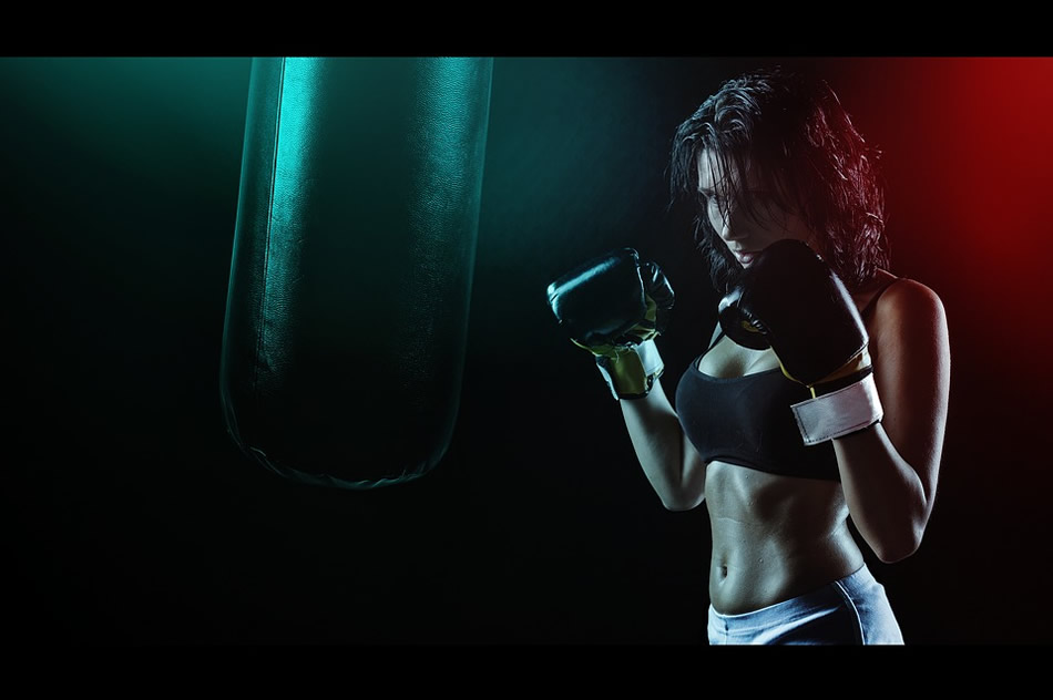 Mujer dieta deporte