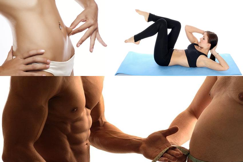 Corriente en el estomago para adelgazar