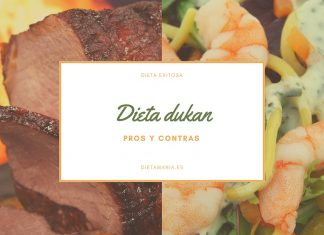 Los pros y los contras de la dieta Dukan