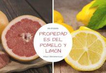 Propiedades del pomelo y limón en ayunas