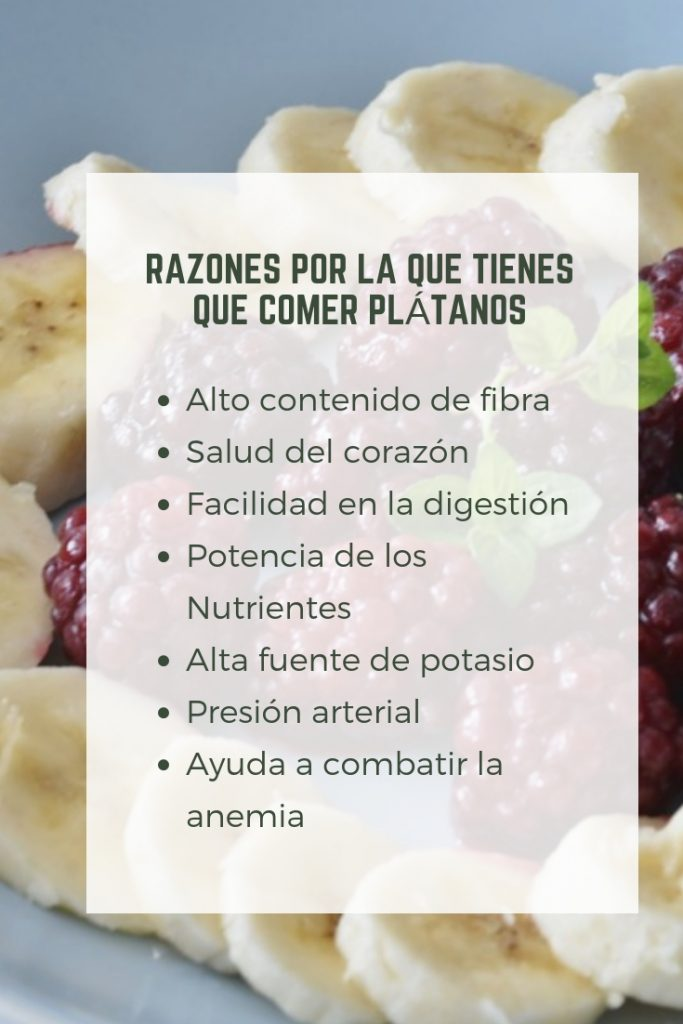 pinterest come plátanos o bananas sus beneficios