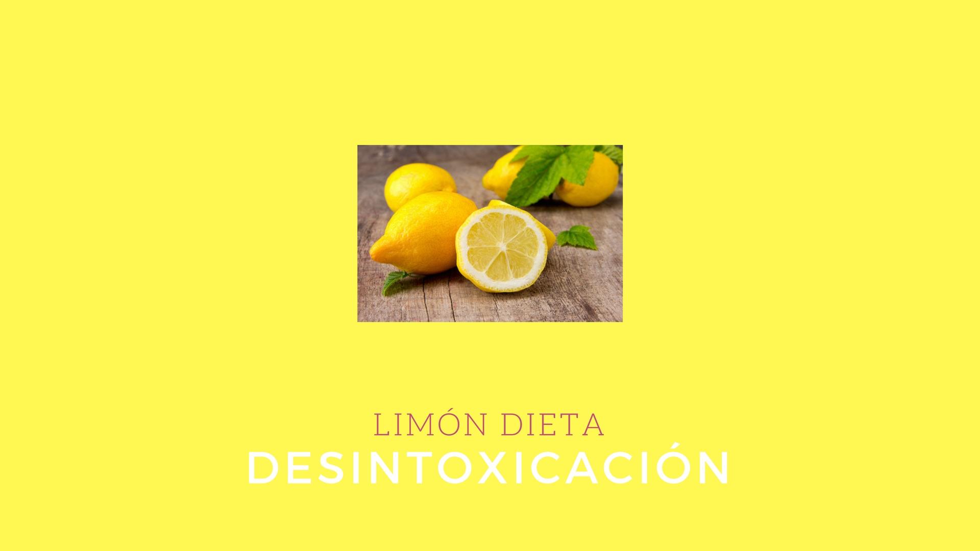 dieta de desintoxicación de 10 días para el plan de pérdida de peso