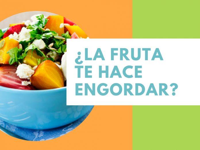 ¿La fruta te hace engordar?
