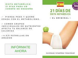 Dieta metabólica_ 21 días para UN cuerpo de ensueño